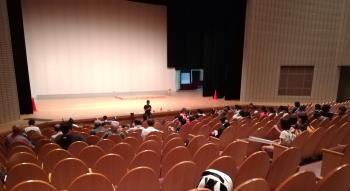 大ホール練習